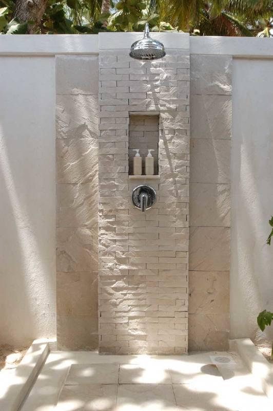 vidaXL Garden Shower Solar Pool Shower Rain Shower: Amazon
