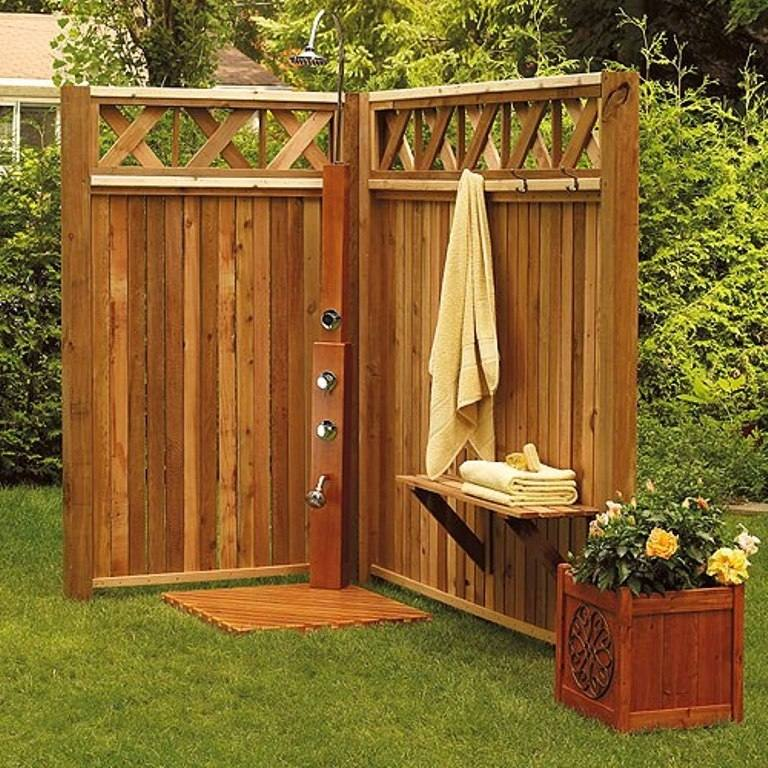 outdoor shower ideas photos simple backyard pictures