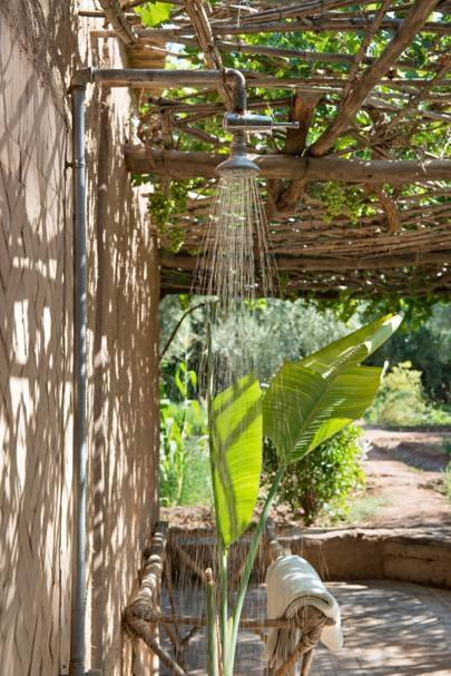 'I can't even take an outdoor shower