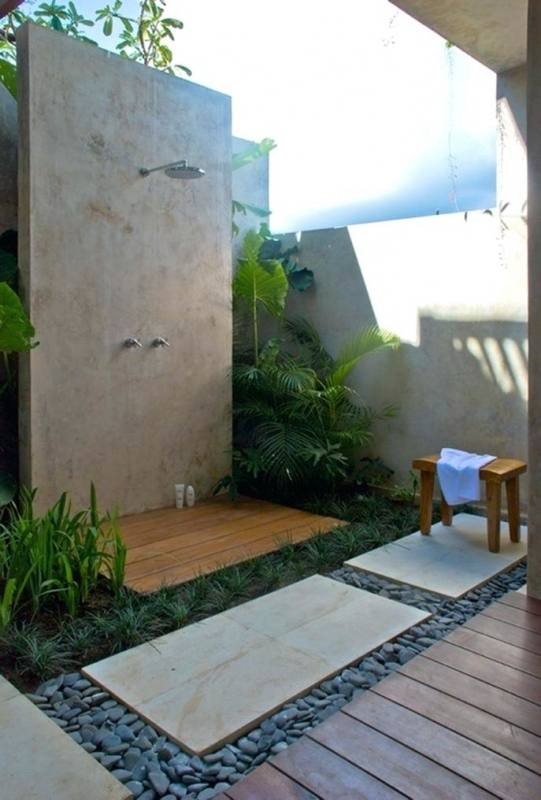best and luxury modern outdoor shower designs trends pool showers