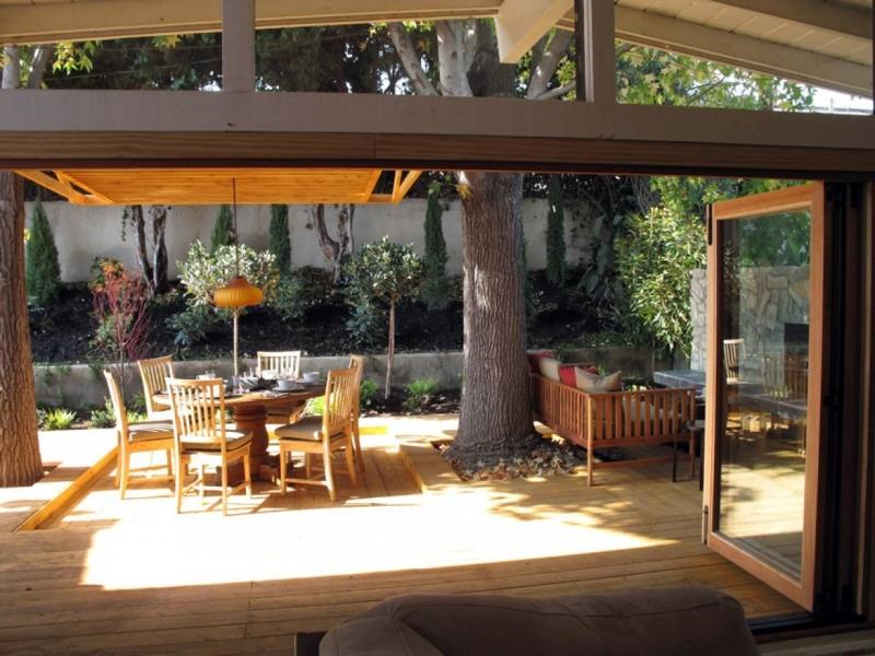 outdoor living room designs