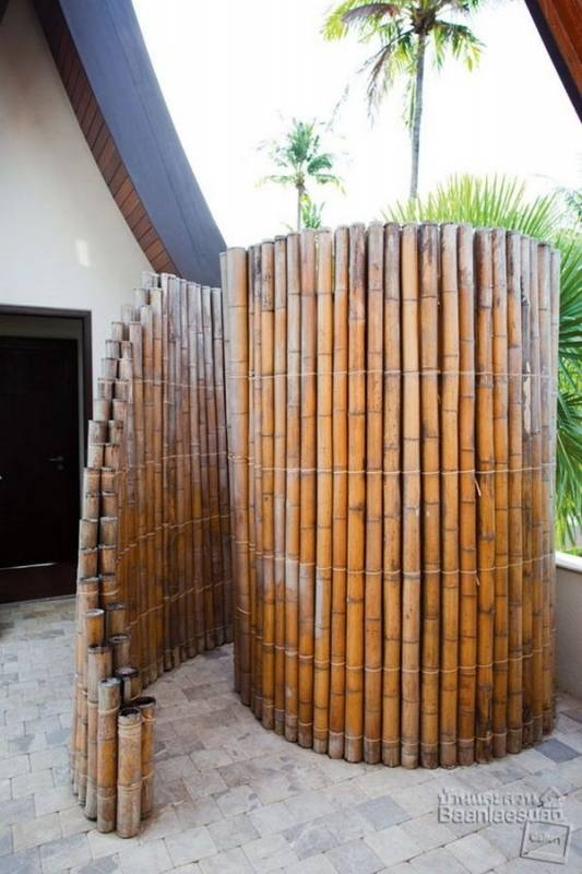 outside shower ideas beach style patio with outstanding outside showers also wooden and stone wall combination