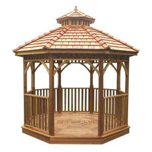 Available in a 10'x10' size, this gazebo offers a sleek and elegant way to expand your outdoor living space at an affordable price