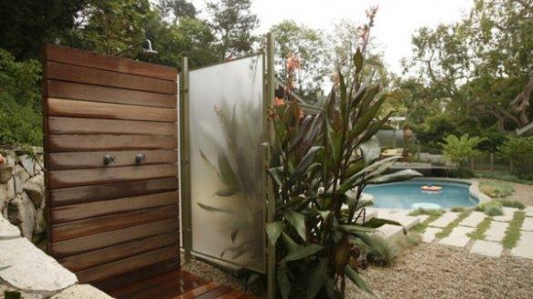 rustic outdoor shower whimsical backyard shower with plants rustic outdoor showers designs
