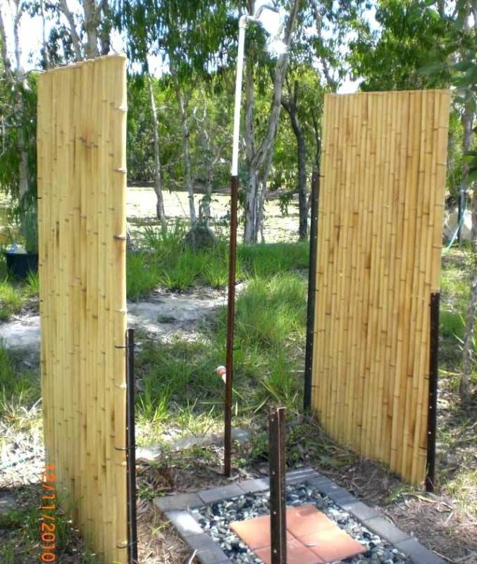 outdoor shower ideas simple homemade outside baby plans