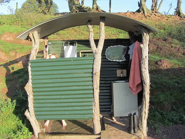 outdoor shower kit free standing ma camping cedar showers standard