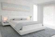 Elegant gray bedroom White Bedroom Decor