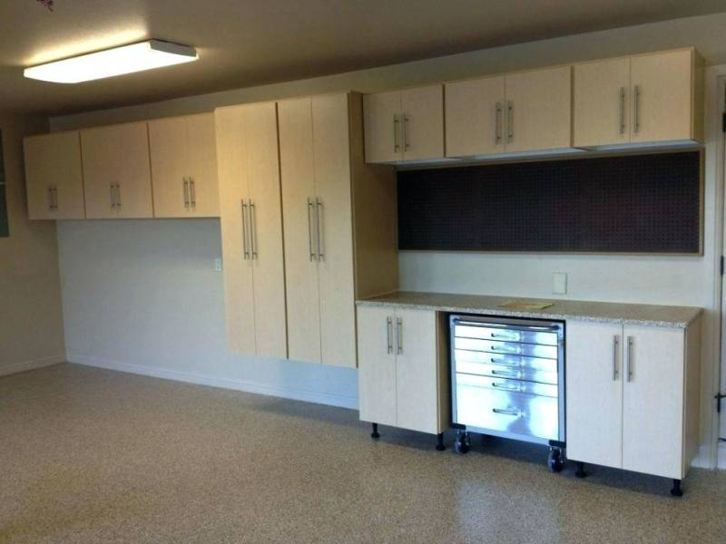 kitchen garage cabinets