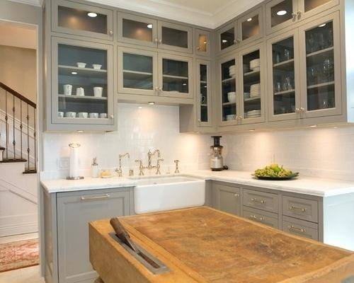 Org » Ideas for decorating the top of kitchen cabinets