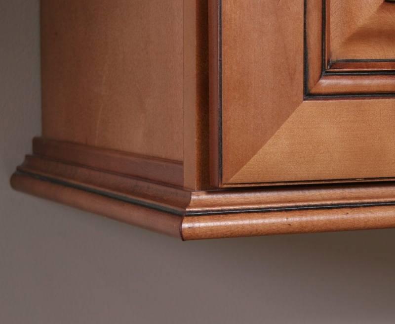 Kitchen Cabinet Trim As Corner Tv Cabinet
