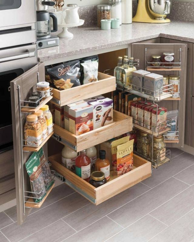 Medium Size of Kitchen Overhead Kitchen Cabinets Cabinet Storage  Solutions Kitchen Racks Wooden Countertop Storage Ideas