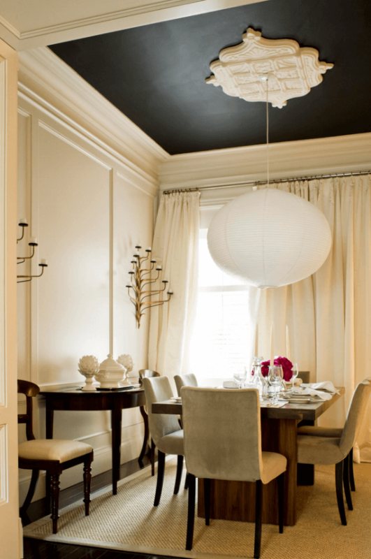 dining room ceiling ideas wainscoting ceiling ideas dining room traditional  with painted wainscoting ceiling ideas dining
