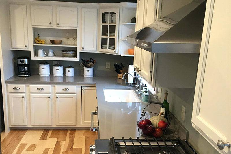 unfinished pine kitchen cabinets maine rustic cabinet ideas with black  accents and white sink
