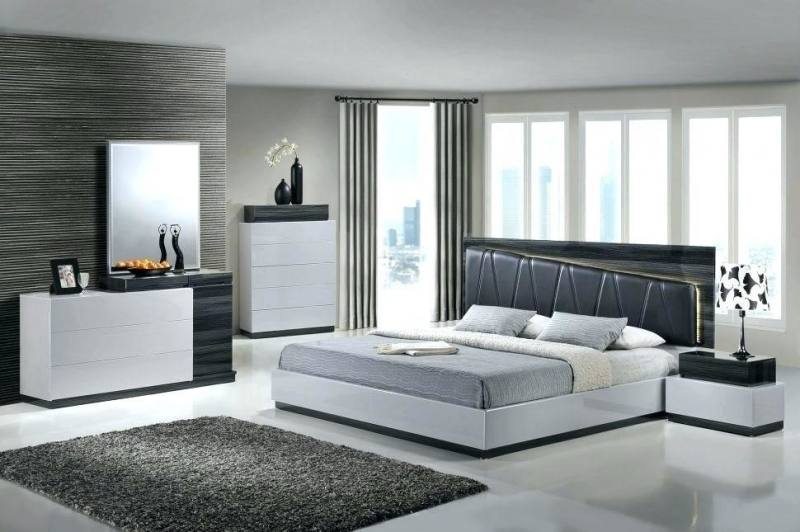 grey color bedroom