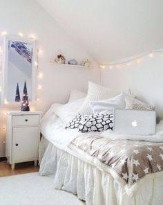 christmas lights in room ideas