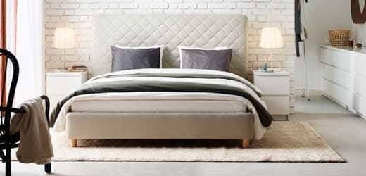 Home Bed Bedroom Furniture Home Furniture Nordic simple modern solid wood bed 1
