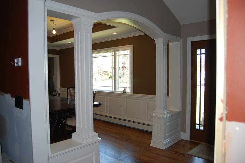 dining room archway ideas