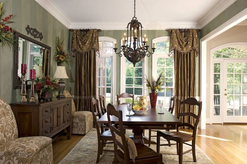 formal dining room curtains drapes draperies ideas drapery for best