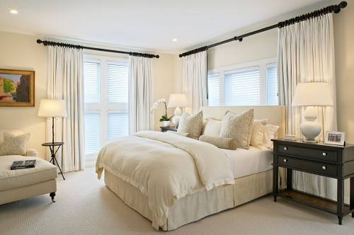 Ideas to design bedrooms cozy and warm guest bedrooms