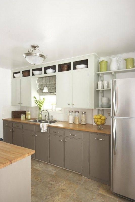 bottom kitchen cabinets kitchen cabinets white top