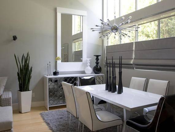 dining room decor stone surround linear design ideas Chic linear fireplace ideas – modern fireplaces with great visual appeal