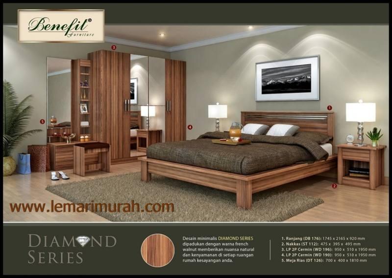 Munich Bedroom Set (8' x