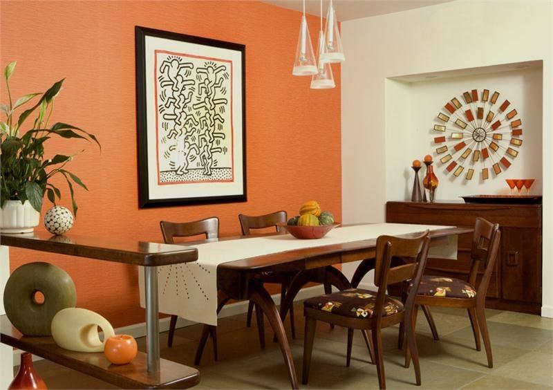 orange room decor orange room ideas orange dining room wall decor