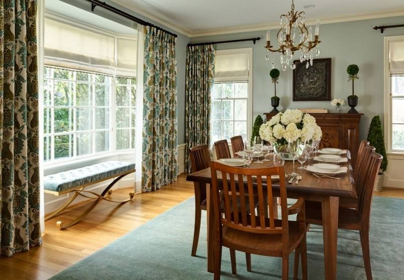 classic dining rooms of the best curtains room ideas