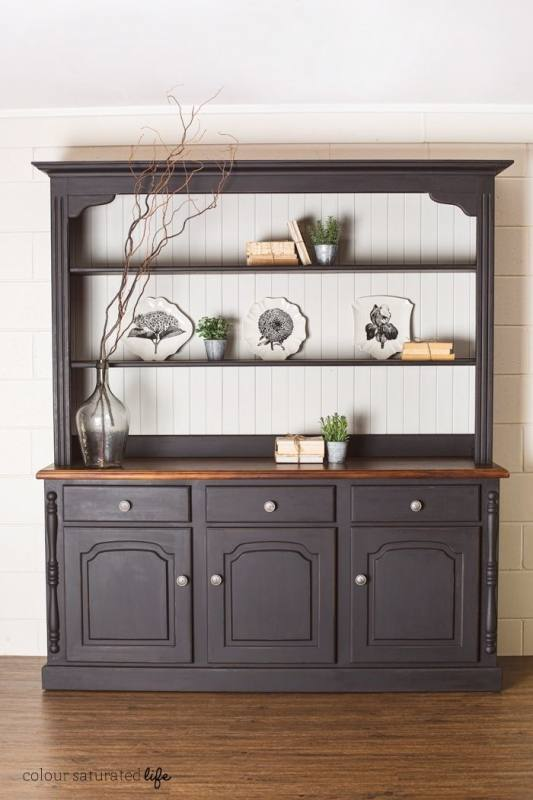 painted hutch ideas tall dining room cabinet best black hutch ideas on painted hutch dinning black