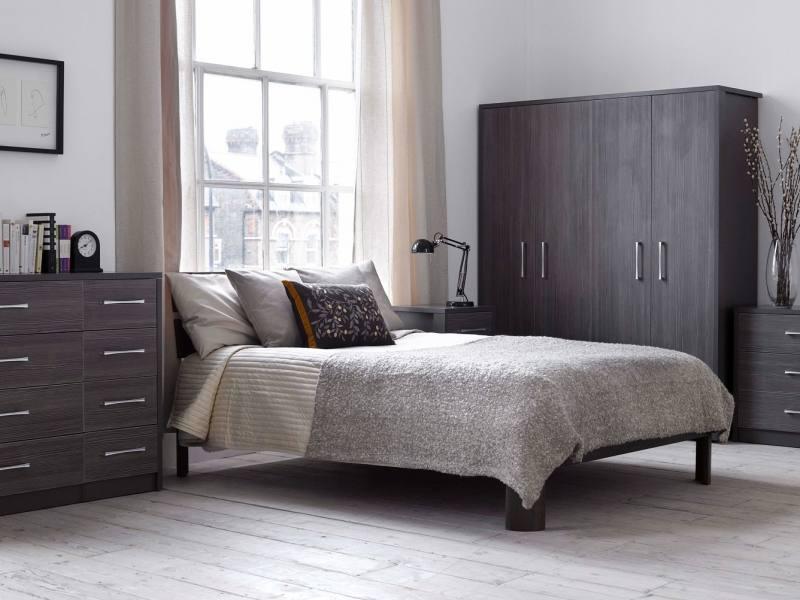 Philippe 5 Piece Queen Bedroom Set, Grey, , large