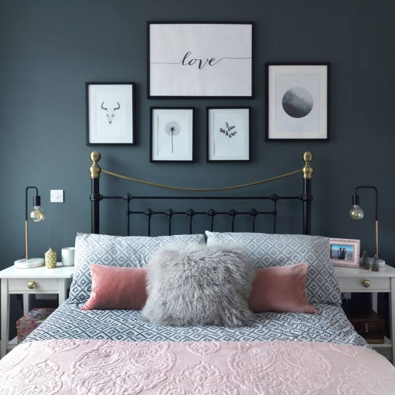 dark colors for bedroom