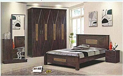 Herrera Bedroom Set (4' x