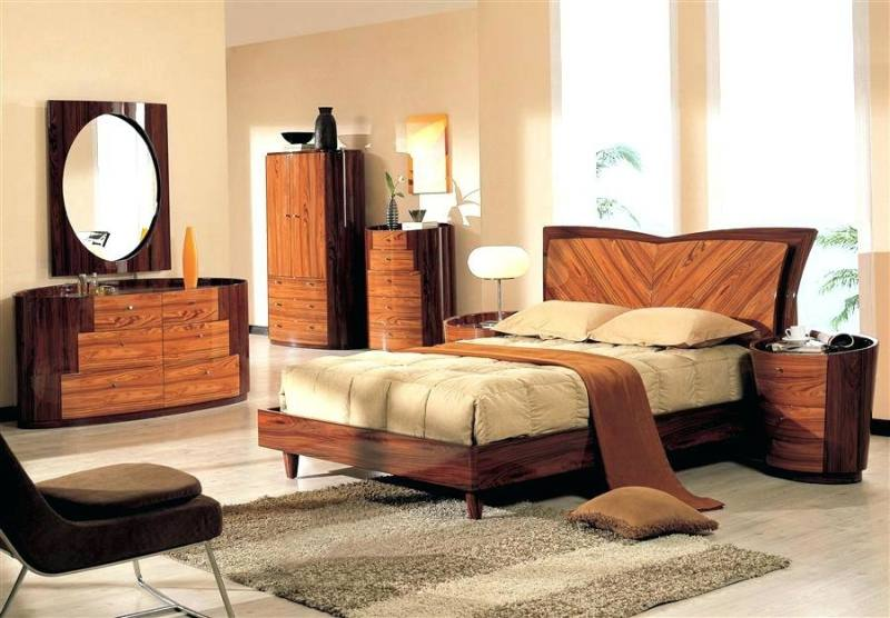 TURIN Modern Bed | J & M Furniture, $1,200