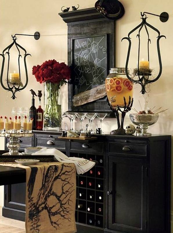 halloween dining room decorations 33 spooky scary halloween decorations for 2016
