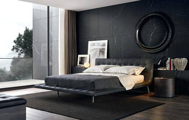 bedroom design ideas minimalist bedroom with white bed feat black