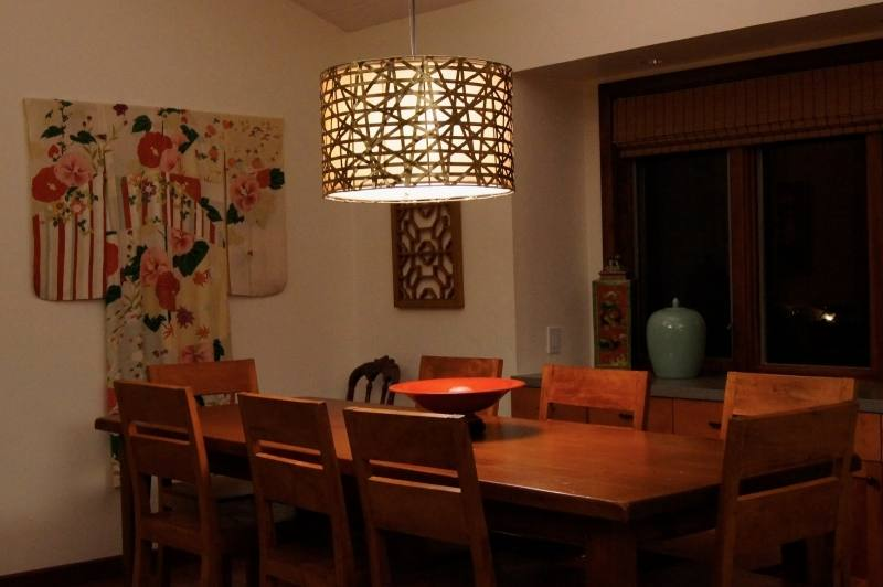 Modern dining room #Lighting [ LEDLiquidatorsInc