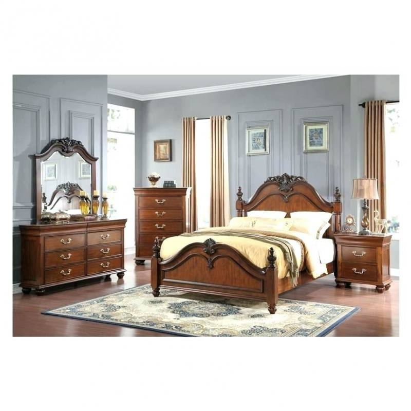 Manhattan White Mirrored Queen Platform Bed main image, 1 of 4 images