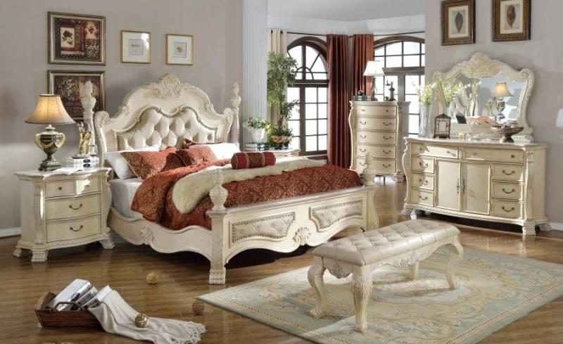 Includes queen bed, dresser