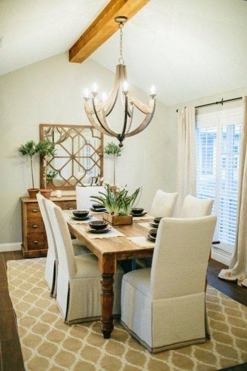 Farmhouse style dining room inspiration