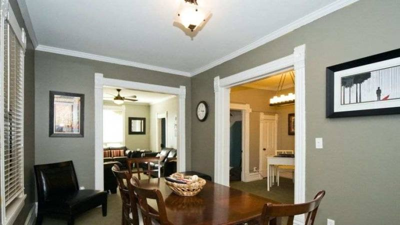 Elegant Dining Room Dining Room Chair Rail Chair Rail Molding Ideas  with Dining Room Molding Ideas