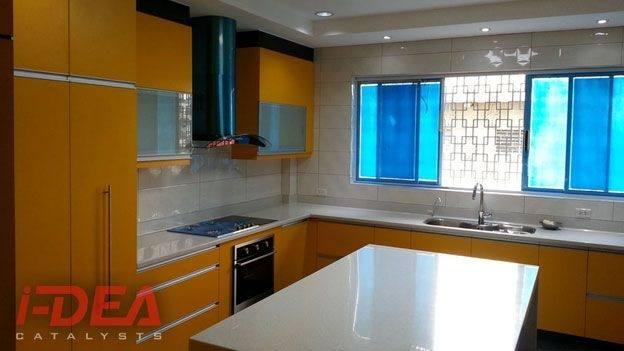Modular Cabinet Maker, Kitchen Cabinet Design, Laminated Cabinet