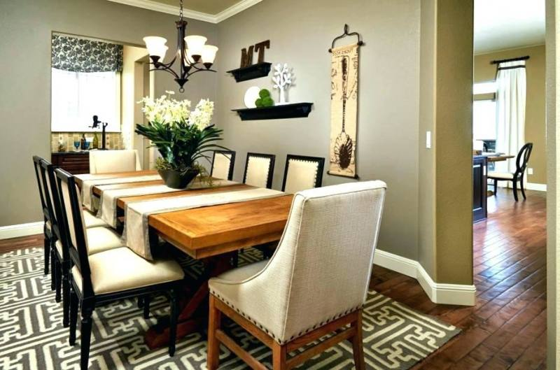 Full Size of Cool Dining Table Ideas Modern Room Decorating 2018 For  Alluring Patterned Wall Z