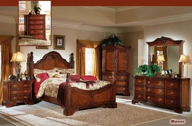 The rustic Sedona bedroom set gracefully combines traditional design with  some of the biggest style trends of today