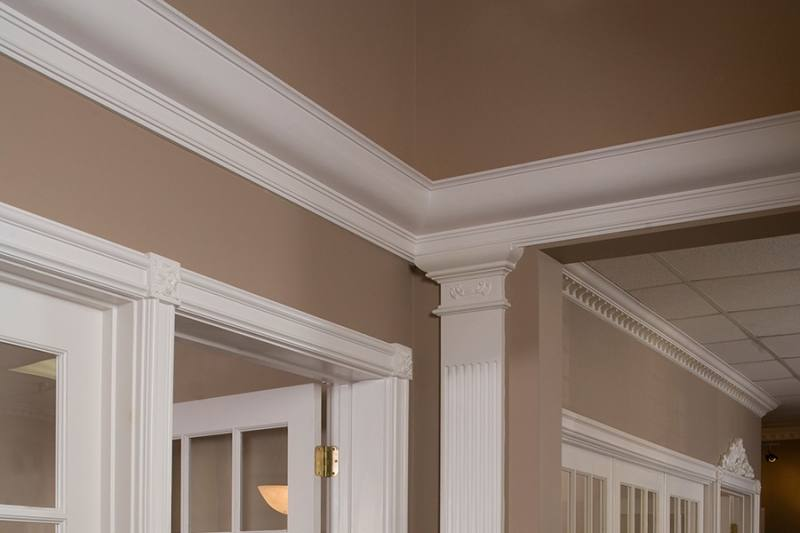 dining room molding ideas customized moulding in new home inside dining  room molding ideas regarding home