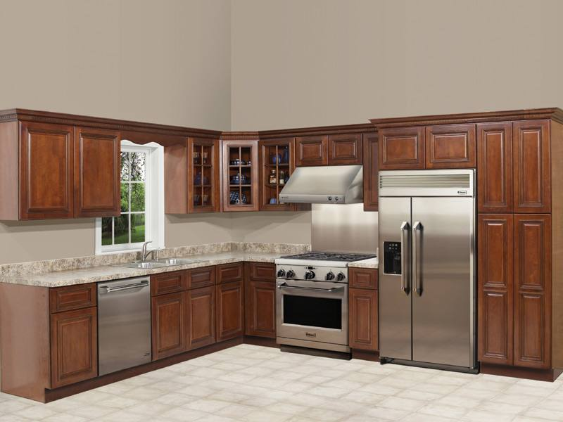 We offer a wide selection of high quality wood Maple Glaze, Walnut, Light  Cherry, Honey Maple, and White Maple kitchen cabinets in many styles and  sizes