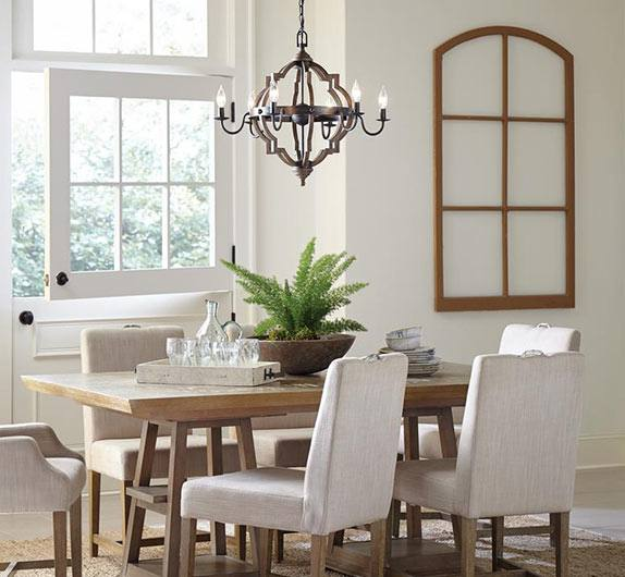 How to Select the Right Size Dining Room Chandelier | Home | Pinterest | Dining room, Dining room lighting and Dining