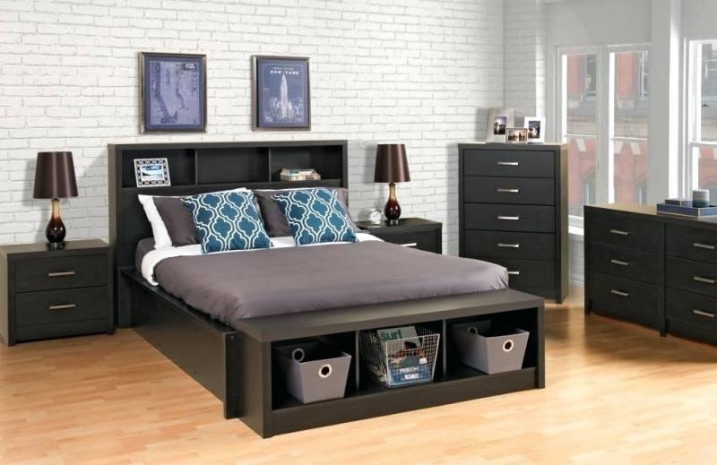 Queen Black Sleigh Bedroom Package