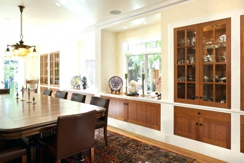 built in dining room buffet ideas