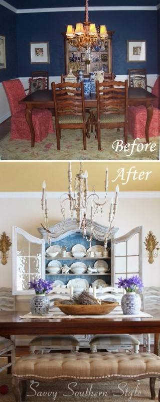 Best 10 Dining Table Redo Ideas On Pinterest Dining Table in Dining  Room Table Makeover Ideas