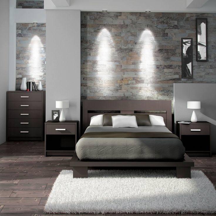 dark grey bedroom set
